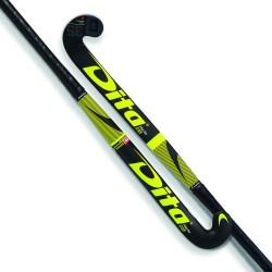 Stick de Hockey Dita FiberTec Junior C35 Fucsia-Negro