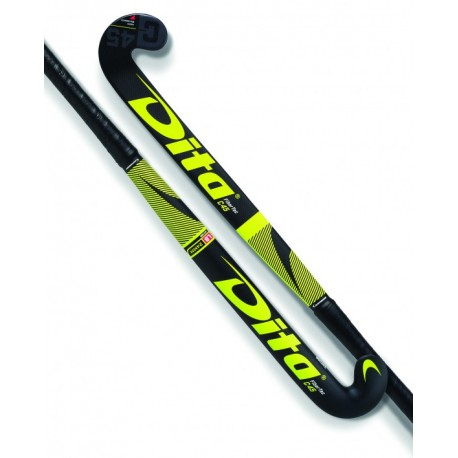 Stick de Hockey Dita FiberTec Junior C45 Fucsia-Negro