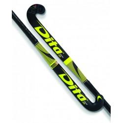Stick de Hockey Dita FiberTec Junior C50 Fucsia-Negro