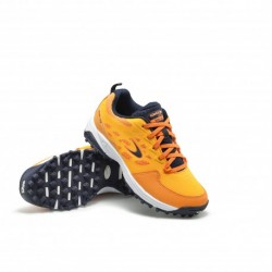 Zapatillas de Hockey Hierba Dita STBL 100 Junior Naranja-Navy