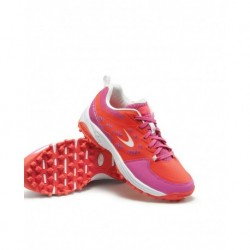 Zapatillas de Hockey Hierba Dita STBL 100 Junior Fucsia-Fluo Red