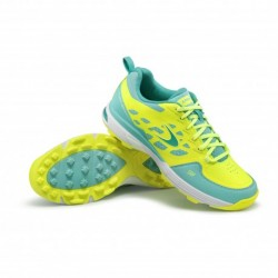 Zapatillas de Hockey Hierba LIGHT 500 Slim Fit Verde
